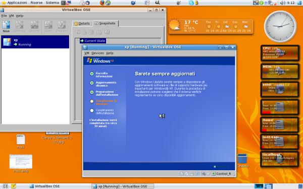 installazione di Xp con VirtualBox 3