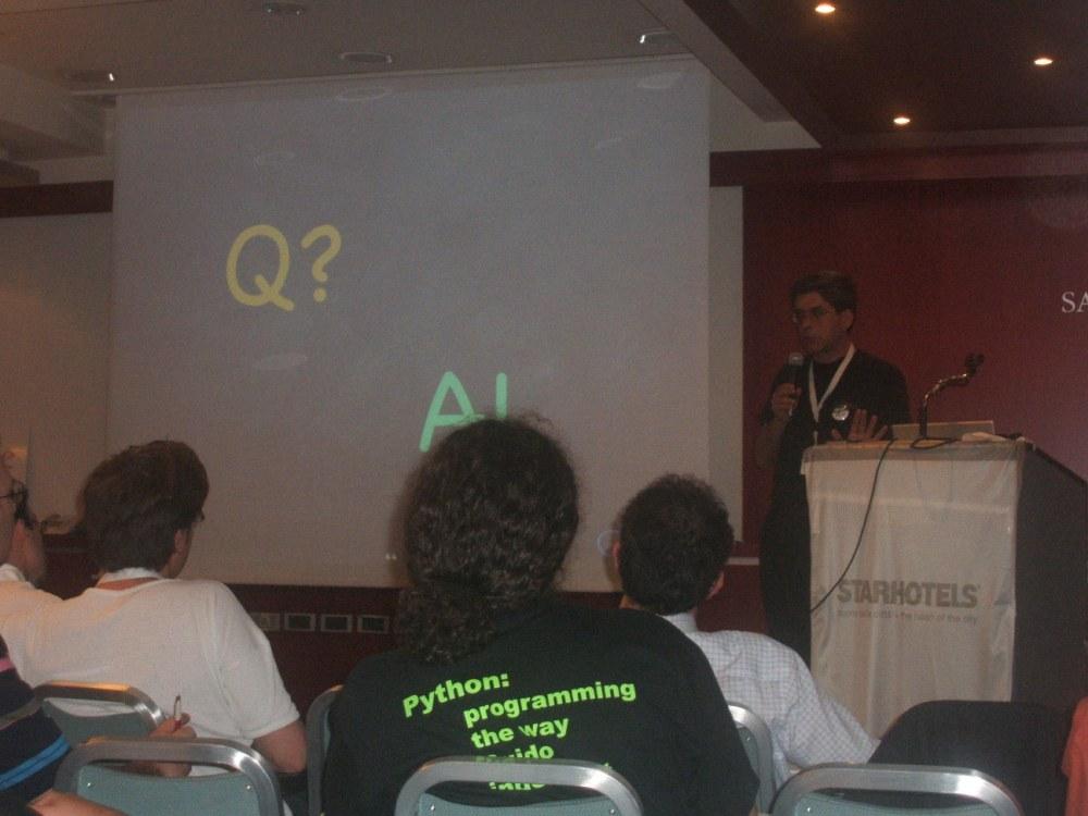 Keynote di Alex Martelli